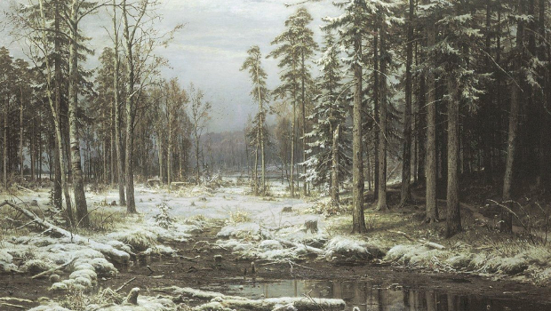 Ivan Shishkin - First snow